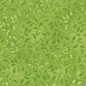 Essentials Climbing Vine Cotton Fabric - Green