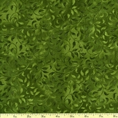 Essentials Climbing Vine Cotton Fabric - Hunter