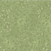 Essentials Climbing Vine Cotton Fabric - Leafy Green