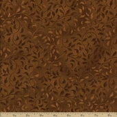 Essentials Climbing Vine Cotton Fabric - Light Brown