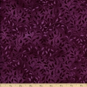 Essentials Climbing Vine Cotton Fabric - Purple