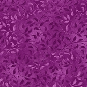 Essentials Climbing Vine Cotton Fabric - Violet