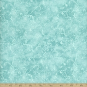 Essentials Filigree Cotton Fabric - Aqua