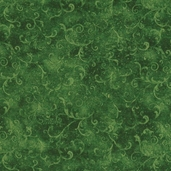 Essentials Filigree Cotton Fabric - Forest Green