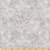 Essentials Filigree Cotton Fabric - Light Grey