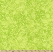 Essentials Filigree Cotton Fabric - Lime