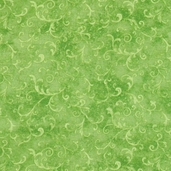 Essentials Filigree Cotton Fabric - Lime Green