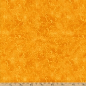 Essentials Filigree Cotton Fabric - Orange 1810-42324-858