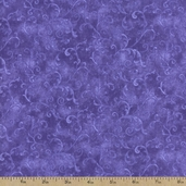 Essentials Filigree Cotton Fabric - Purple