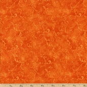 Essentials Filigree Cotton Fabric - Red Orange 1810-42324-838
