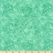 Essentials Filigree Cotton Fabric - Sea Green