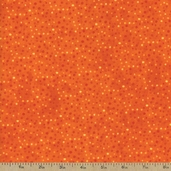 Essentials Flannel Petite Dots Fabric - Dark Orange