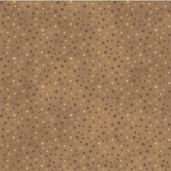 Essentials Petite Dots Cotton Fabric - Light Brown
