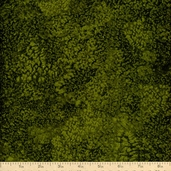 Essentials Salt Texture Cotton Fabric - Dark Green