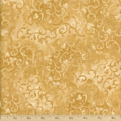 Essentials Scroll Cotton Fabric - Light Tan