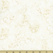 Essentials Scroll Cotton Fabric - Lightest Taupe Q1077-89025-101