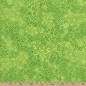 Essentials Sparkle Cotton Fabric - Bright Lime