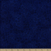 Essentials Sparkle Cotton Fabric - Cobalt - Clearance