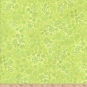 Essentials Sparkle Cotton Fabric - Light Yellow Lime