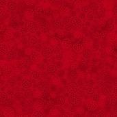 Essentials Sparkle Cotton Fabric - Passion Red