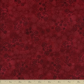 Essentials Sparkles Cotton Fabric - Burgundy