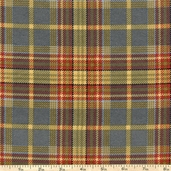 Essex Flannel Fabric Classic Plaid - Blue