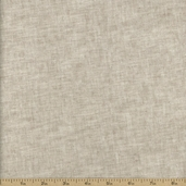 Essex Wide Linen Cotton Fabric Blend - Flax
