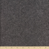 Essex Yarn Dyed Linen Cotton Blend Fabric - Charcoal