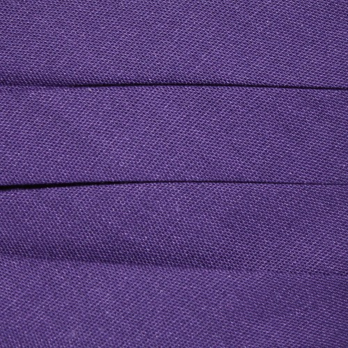 Extra Wide Double Fold Bias Tape - Plum