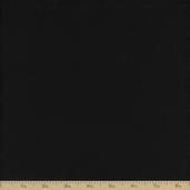Extra Wide Solid Flannel Fabric - Black