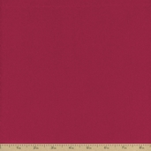 Extra Wide Solid Flannel Fabric - Burgundy