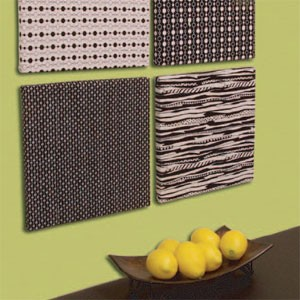 Fabric Canvas Wall Decor