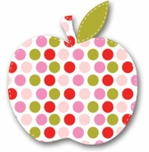 Fabric Iron-Ons For Baby - Apple