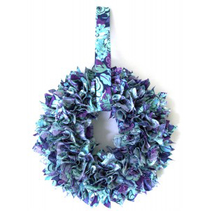 Fabric Tucked Wreath
