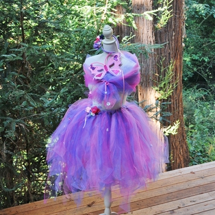 Fairy Costume with Mask