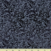 Fairy Frost Cotton Fabric - Black CM0376