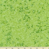 Fairy Frost Cotton Fabric - Celery