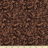 Fairy Frost Cotton Fabric - Copper