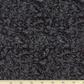 Fairy Frost Cotton Fabric - Diamond Black