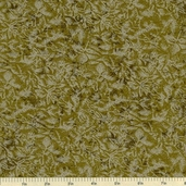 Fairy Frost Cotton Fabric - Fern
