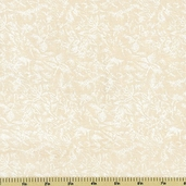 Fairy Frost Cotton Fabric Glitz - Natural CM0376