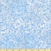 Fairy Frost Cotton Fabric - Powder Blue