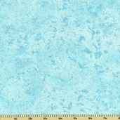Fairy Frost Glitz Cotton Fabric - Aqua CM0376