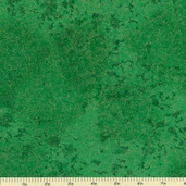 Fairy Frost Glitz Cotton Fabric - Evergreen CM0376