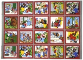 Fairy Tale Friends Cotton Fabric Panel - Multi