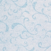 Family Tree TextuRed Scroll Cotton Fabric - Blue
