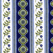Fancy Bands from Michael Miller Fabrics - Blue
