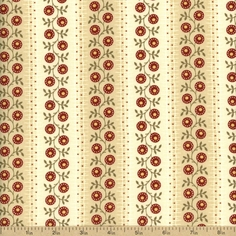 Farmer's Market Cotton Fabric - Cream 2083-11