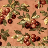 Farmer's Market Cotton Fabric - Rose 2080-13
