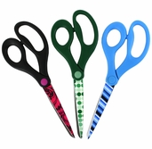 Fashion Cuts Multi-Use Scissors 8 1/2 inch Set of 3